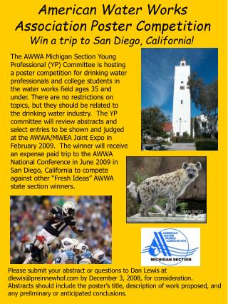 Win a trip to San Diego, California!