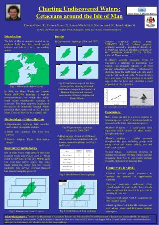 Charting Undiscovered Waters:  Cetaceans around the Isle of Man