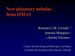 New planetary nebulae from  IPHAS