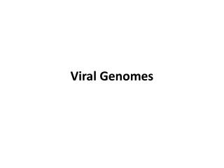 Stranded RNA Viruses I