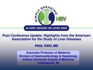 Associate Professor of Medicine Division of Gastroenterology & Hepatology