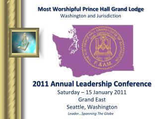 Most Worshipful Prince Hall Grand Lodge Washington and Jurisdiction