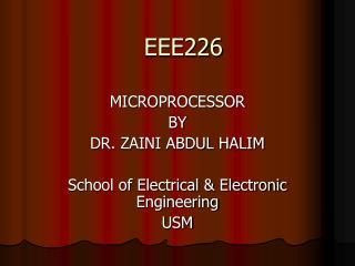 EEE226