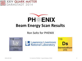 Beam  Energy Scan Results