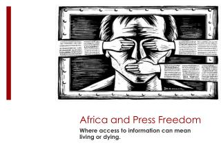 Africa and Press Freedom