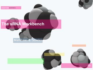 The sRNA Workbench