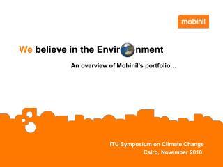 ITU Symposium on Climate Change