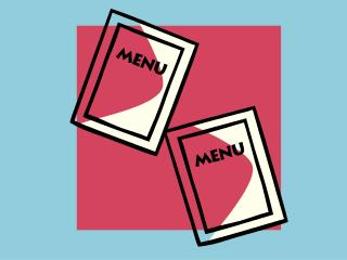 A menu is a list of food and beverage items served in a food and beverage operation.