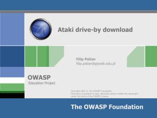 Ataki drive-by download