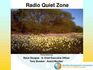 Radio Quiet Zone