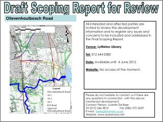 Draft Scoping Report for Review
