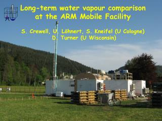 Long-term water vapour comparison  at the ARM Mobile Facility