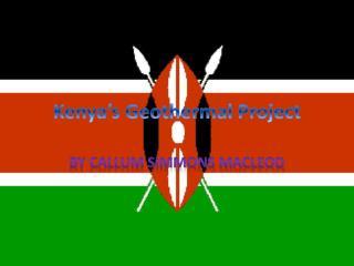 Kenya�s Geothermal Project