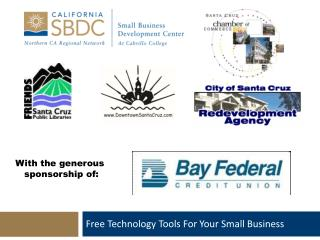 Free Technology Tools For Your Small Business