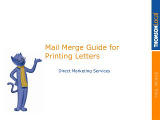 Mail Merge Guide for Printing Letters