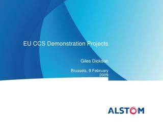EU CCS Demonstration Projects