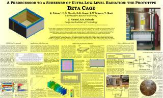 A P REDECESSOR TO A  S CREENER OF  U LTRA- L OW- L EVEL  R ADIATION: THE  P ROTOTYPE
