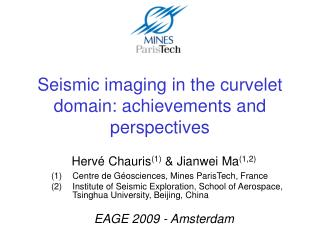 Seismic imaging in the curvelet domain: achievements and perspectives
