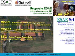 Proposte ESAE c/o sito in Cornaredo (MI) vito.lavanga@esaesrl