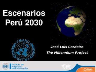 Escenarios Per ú  2030