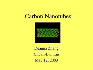 Carbon Nanotubes