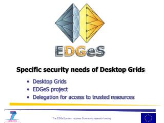 Specific security needs of Desktop Grids