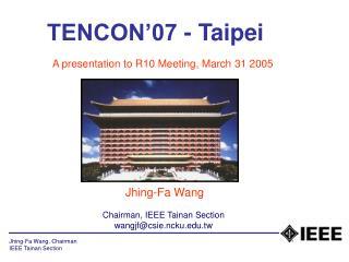 TENCON'07 - Taipei