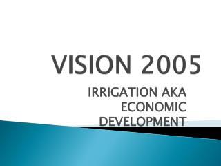 VISION 2005