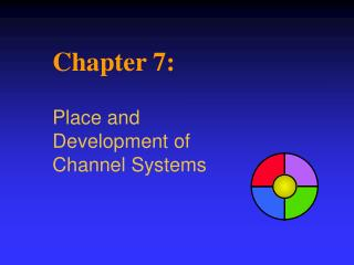 Chapter 7: Place and Development of Channel Systems