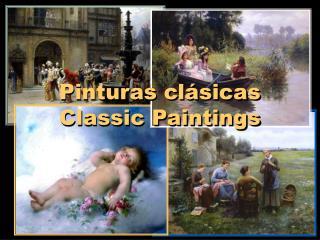 Pinturas cl sicas Classic Paintings