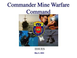 Commander Mine Warfare Command