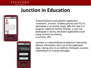 Junction in Education