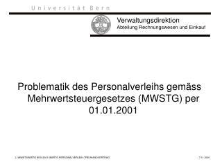 Verwaltungsdirektion Abteilung Rechnungswesen und Einkauf