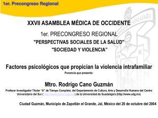 1er. Precongreso Regional