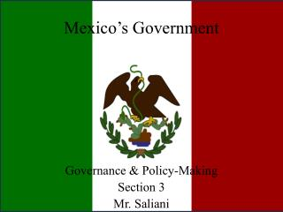 Mexico�s Government