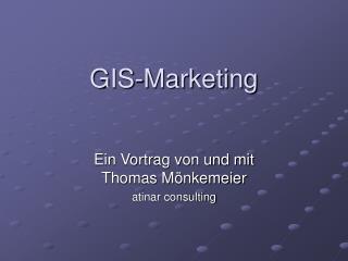 GIS-Marketing