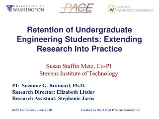 Retention of Undergraduate Engineering Students: Extending Research Into Practice
