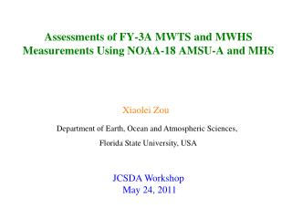Assessments of FY-3A MWTS and MWHS Measurements Using NOAA-18 AMSU-A and MHS