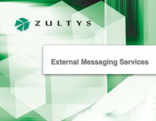 External Messaging Services