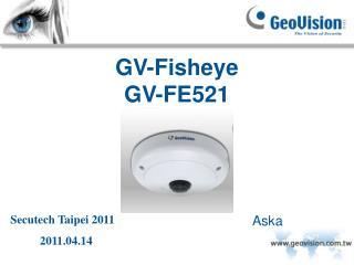 GV-Fisheye GV-FE521