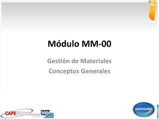 M�dulo MM-00