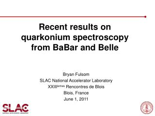 Recent results on quarkonium spectroscopy from BaBar and Belle