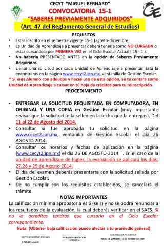 FECHA DE PUBLICACIÓN 23/06/2014