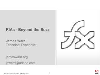 RIAs - Beyond the Buzz