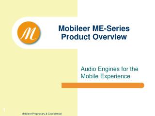 Mobileer ME-Series Product Overview