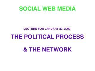 SOCIAL WEB MEDIA