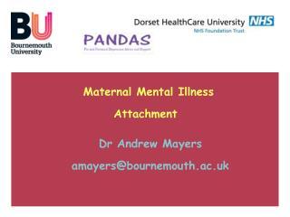 Maternal Mental Illness Attachment