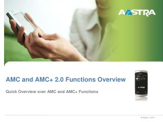 AMC and AMC+ 2.0 Functions Overview