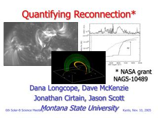 Quantifying Reconnection*
