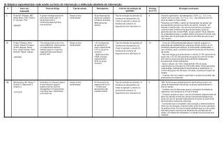 A) Estudos experimentais onde existe controlo de intervenção e atribuição aleatória da intervenção